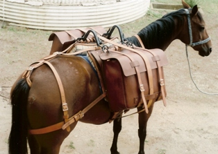 how to make a pack saddle